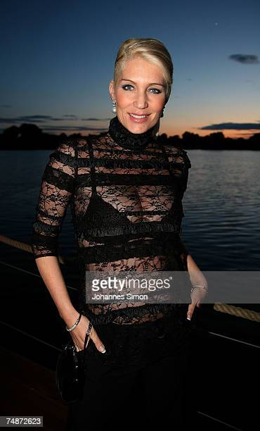 Sarah Kern attends the DTM Come Together party on June 23 2007 in Nuremberg Germany
