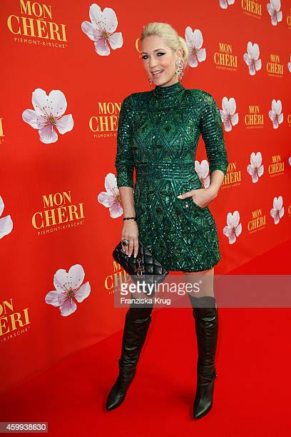 Sarah Kern attends the Mon Cheri Barbara Tag 2014 at Haus der Kunst on December 4 2014 in Munich Germany