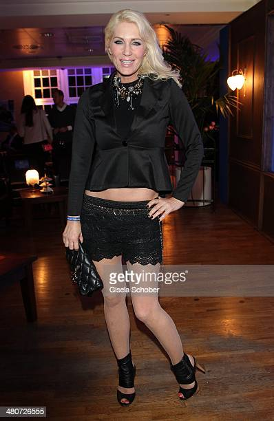 Sarah Kern attends the screening of the series 'Mr Selfridge' at Karstadt on March 26 2014 in Munich Germany