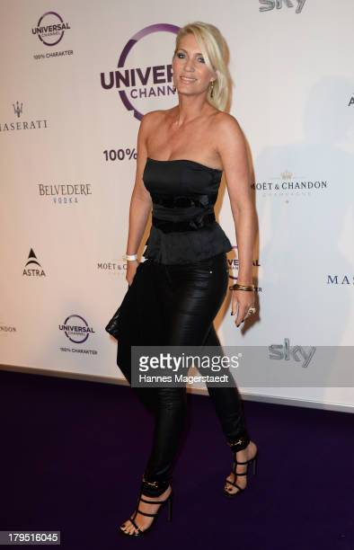 Sarah Kern attends the Universal Channel launch party at Brienner Forum on September 4 2013 in Munich Germany