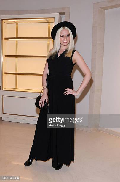 Sarah Knappik attends Harald Gloeoeckler's 30th anniversary party of his label Pompoeoes' at Hotel Adlon on January 15 2017 in Berlin Germany