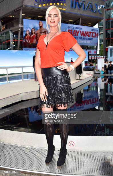 Sarah Knappik during the Baywatch European Premiere Party on May 31 2017 in Berlin Germany