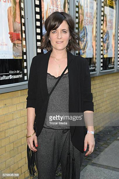 Sarah Kuttner attends the 'Maengelexemplar' German Premiere on May 09 2016 in Berlin Germany
