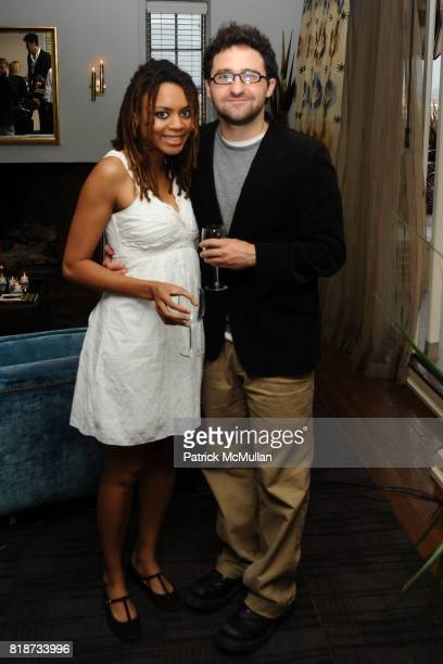 Sarah Labrie and Justin Lerner attend Bret Easton Ellis to celebrate the publication of his new novel IMPERIAL BEDROOMS at Penthouse on June 10 2010...
