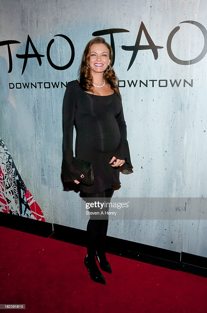 Sarah Lake attends the grand opening of TAO Downtown on September 28, 2013 in New York City.
