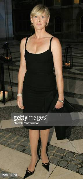 Sarah Lancashire arrives at ITV's 50th Anniversary Royal Reception at the Guildhall on October 13 2005 in London England Queen Elizabeth II and...