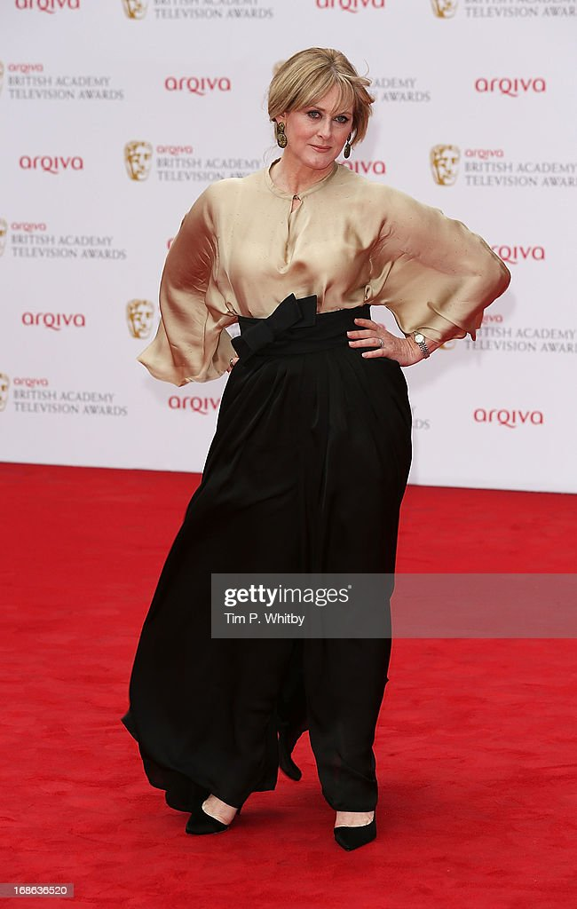 Sarah Lancashire attends the Arqiva British Academy Television Awards 2013 at the Royal Festival Hall on May 12, 2013 in London, England.
