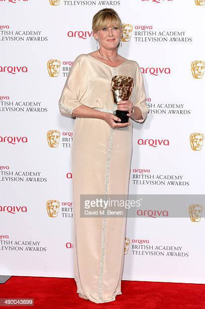 Sarah Lancashire attends the Arqiva British Academy Television Awards at Theatre Royal on May 18 2014 in London England