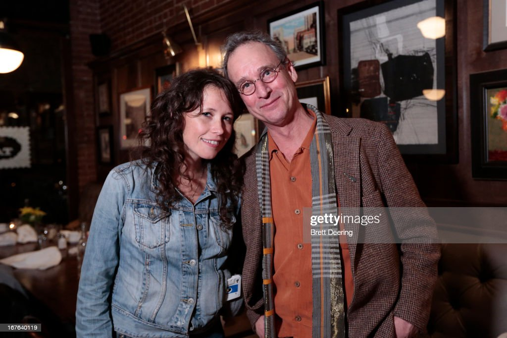 Sarah Lee Guthrie poses for photos during an event for the Woody Guthrie Center on April 26, 2013 in Tulsa, Oklahoma.