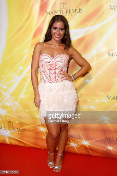 Sarah Lombardi attends the Remus Lifestyle Night on August 3 2017 in Palma de Mallorca Spain