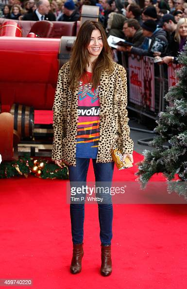 Sarah MacDonald attends the UK Premiere of 'Get Santa' at Vue West End on November 30 2014 in London England