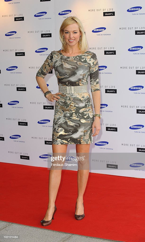 Sarah Manners attends the Samsung Galaxy S launch on June 15, 2010 in London, England.