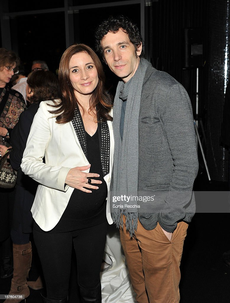 Sarah Manninen and Jonas Chernick attend Canada's Top Ten Announcement/Press Conference at TIFF Bell Lightbox on December 4, 2012 in Toronto, Canada.