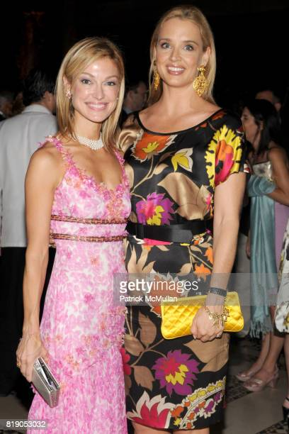 Sarah Mars and Laurie Dhue attend 2010 CARON TREATMENT CENTERS New York City Gala at Cipriani 42nd St on May 26 2010 in New York City