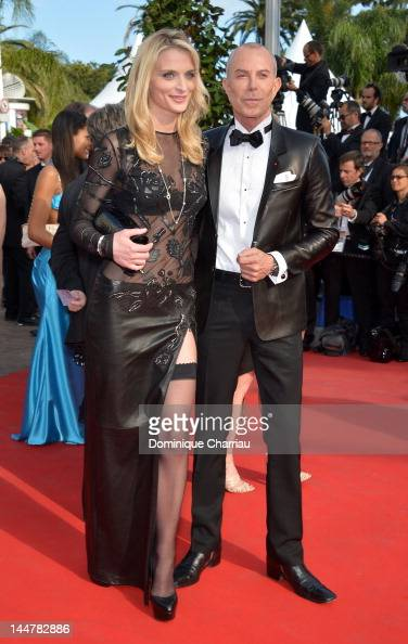 Sarah Marshall and Jean Claude Jitrois attend the 'Lawless' Premiere during the 65th Annual Cannes Film Festival at Palais des Festivals on May 19...