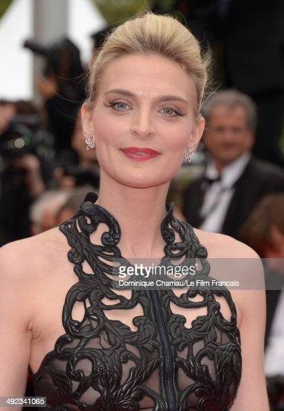Sarah Marshall attends the 'Foxcatcher' Premiere at the 67th Annual Cannes Film Festival on May 19 2014 in Cannes France