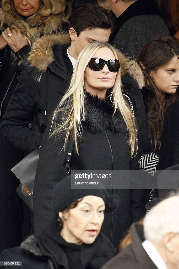 Michele Morgan's Funeral In Paris