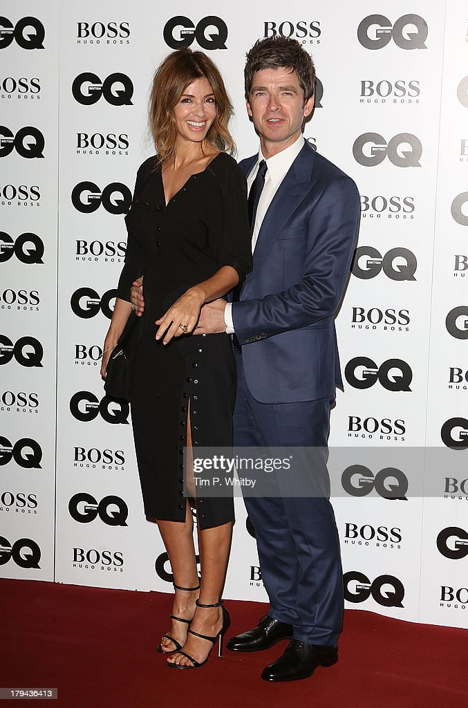 Sarah McDonald and Noel Gallagher attends the GQ Men of the Year awards at The Royal Opera House on September 3, 2013 in London, England.