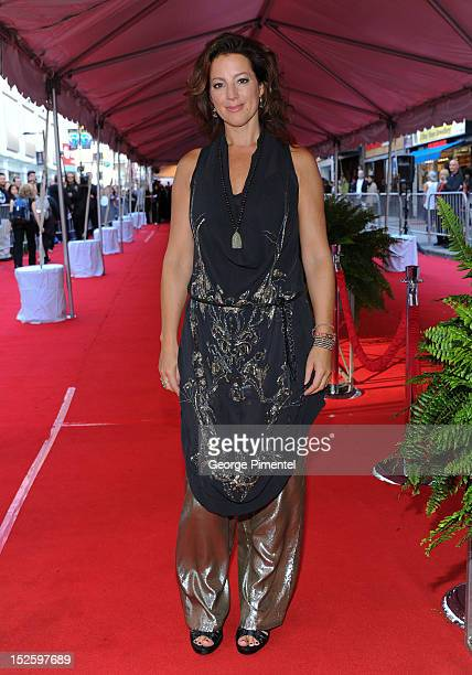 Sarah McLachlan attends the 2012 Canada's Walk of Fame Awards at Ed Mirvish Theatre on September 22 2012 in Toronto Canada