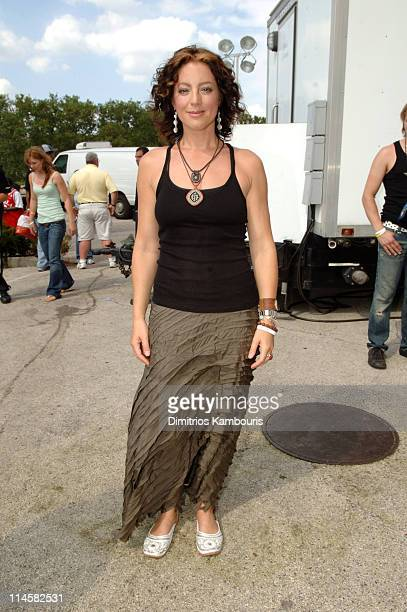 Sarah Mclachlan during LIVE 8 Philadelphia Backstage at Philadelphia Museum of Art in Philadelphia Pennsylvania United States