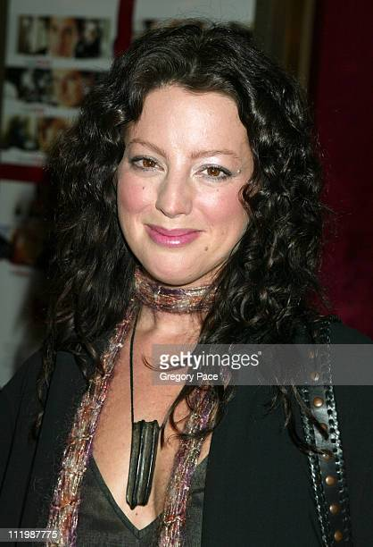 Sarah McLachlan during 'Love Actually' New York Premiere Inside Arrivals at Ziegfeld Theatre in New York City New York United States