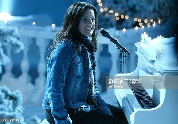 Sarah McLachlan during Nick at Nite Celebrates the Holiday Season with 'The Nick at Nite Holiday Special' Airing on Friday Nov 28 at CBS Studios in...