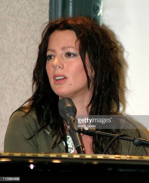 Sarah McLachlan during Sarah McLachlan Signs her New CD 'Afterglow' and Performs at Barnes and Noble Union Square in New York City New York United...