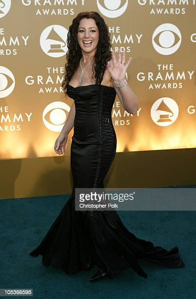 Sarah McLachlan during The 46th Annual Grammy Awards Arrivals at Staples Center in Los Angeles California United States