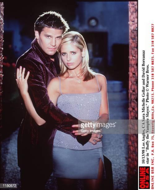 Sarah Michelle Gellar and David Boreanaz star in 'Buffy the Vampire Slayer'