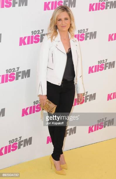 Sarah Michelle Gellar arrives at 1027 KIIS FM's 2017 Wango Tango at StubHub Center on May 13 2017 in Carson California