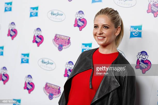 Sarah Michelle Gellar arrives at the My Little Pony Equestria Girls Friendship Games premiere September 17 2015 at the Angelika Film Center in New...