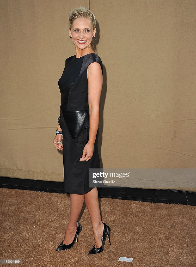 Sarah Michelle Gellar arrives at the Television Critic Association's Summer Press Tour - CBS/CW/Showtime Party at 9900 Wilshire Blvd on July 29, 2013 in Beverly Hills, California.