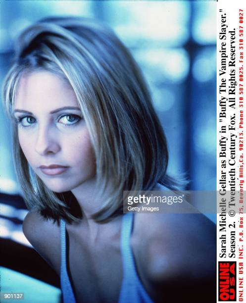 Sarah Michelle Gellar as Buffy in 'Buffy The Vampire Slayer' Season 2