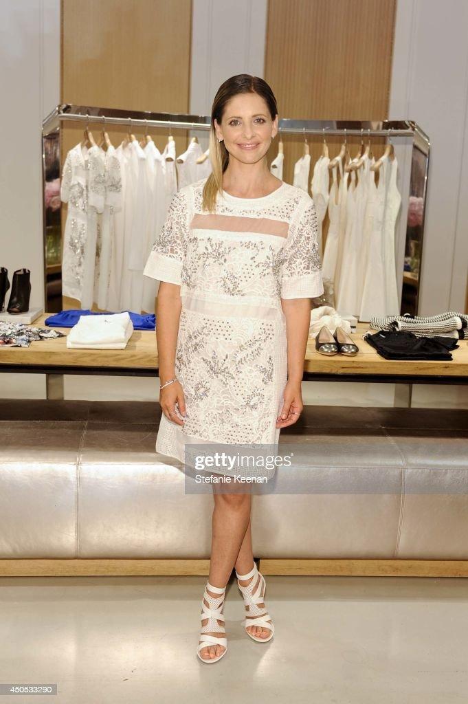 Sarah Michelle Gellar attends Rebecca Taylor Sarah Michelle Gellar Tara Swennen Celebrate The Launch Of The Little White Dress Capsule Collection...