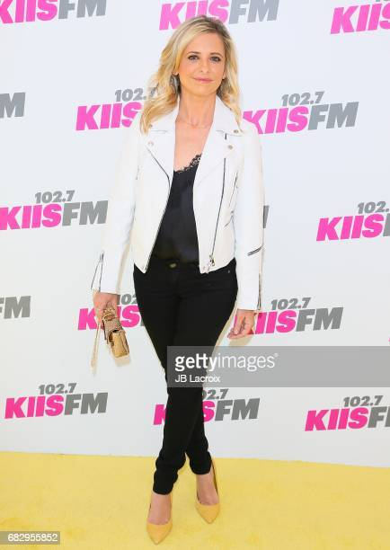 Sarah Michelle Gellar attends the 1027 KIIS FM's 2017 Wango Tango on May 13 2017 in Carson California