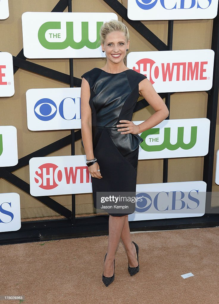 Sarah Michelle Gellar attends the CW, CBS And Showtime 2013 Summer TCA Party on July 29, 2013 in Los Angeles, California.