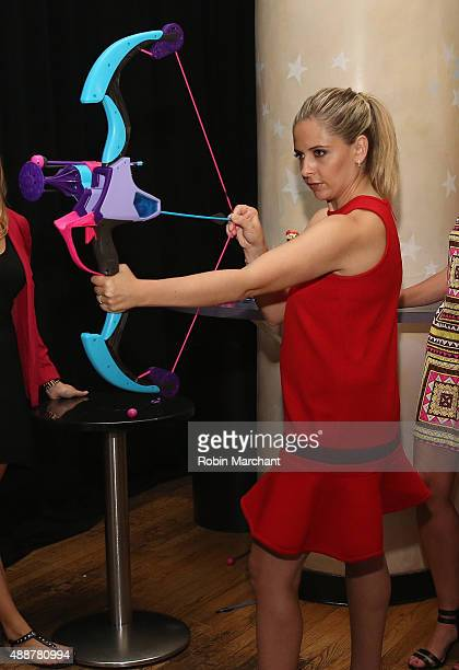 Sarah Michelle Gellar attends the purple carpet premiere screening of the My Little Pony Equestria Girls Friendship Games animated film held at the...