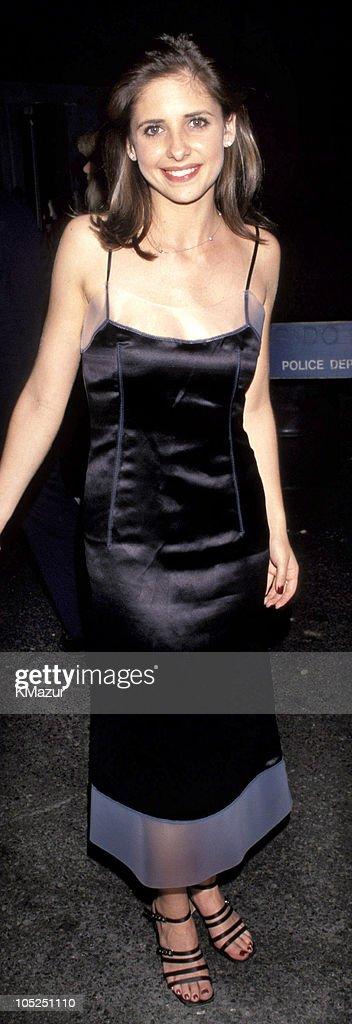 Sarah Michelle Gellar during 'Godzilla' New York City Premiere at Madison Square Garden in New York City New York United States