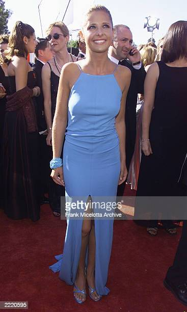 Sarah Michelle Gellar of 'Buffy The Vampire Slayer' at the 1999 Emmy Awards held in Los Angeles CA 9/13/99 Photo by Frank Micelotta/Getty Images