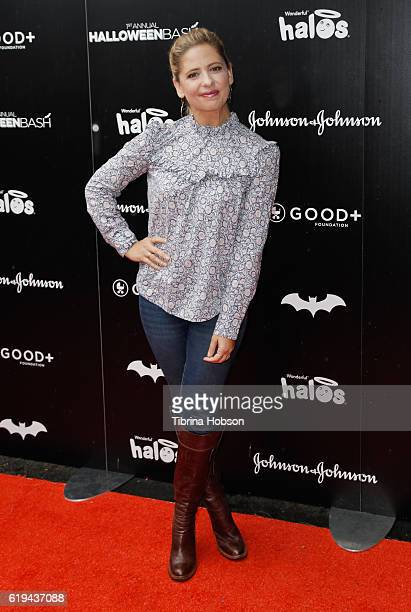 Sarah Michelle Prinze attends the GOOD Foundation's 1st Halloween Bash at Sunset Gower Studios on October 30 2016 in Hollywood California