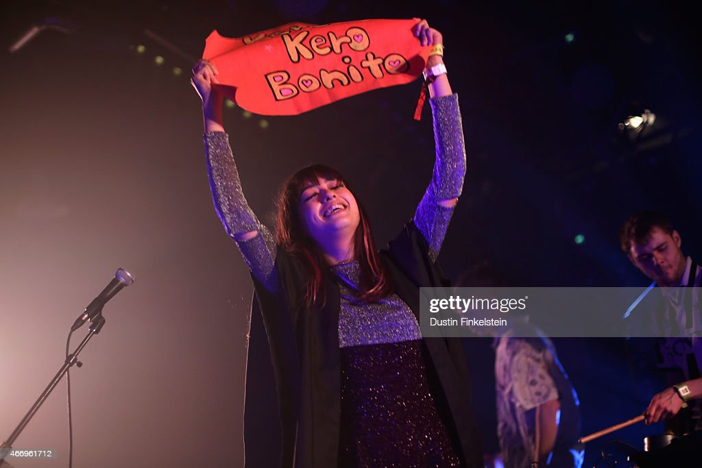 Sarah Midori Perry Jamie Bulled and Gus Lobban of Kero Kero Bonito perform onstage at the Hype/Gorilla vs Bear showcase during the 2015 SXSW Music...