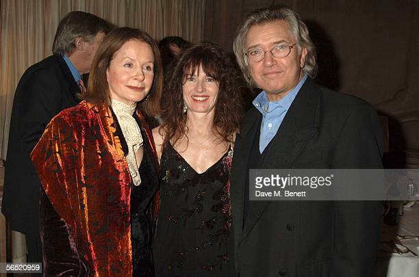Sarah Miles Kaz De Silva and actor Martin Shaw attend the after show party following the opening night of Bill Kenwright's production at the...