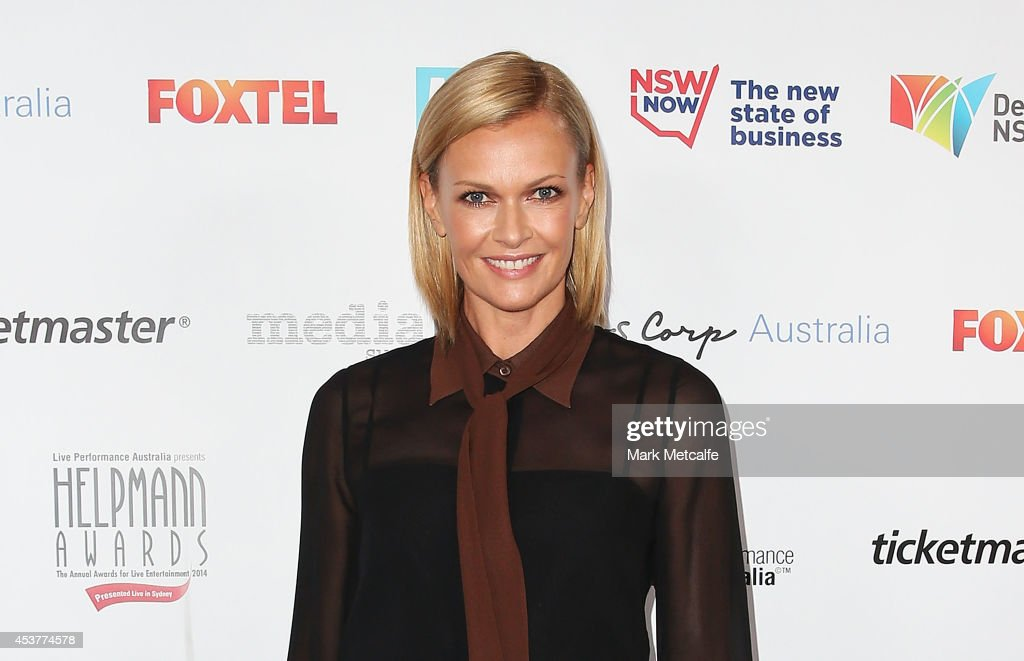 Sarah Murdoch arrives at the 2014 Helpmann Awards at the Capitol Theatre on August 18, 2014 in Sydney, Australia.