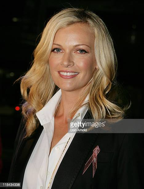 Sarah Murdoch attends the National Breast Cancer Foundation's charity event at the Summit Restaurant on September 26 2007 in Sydney Australia