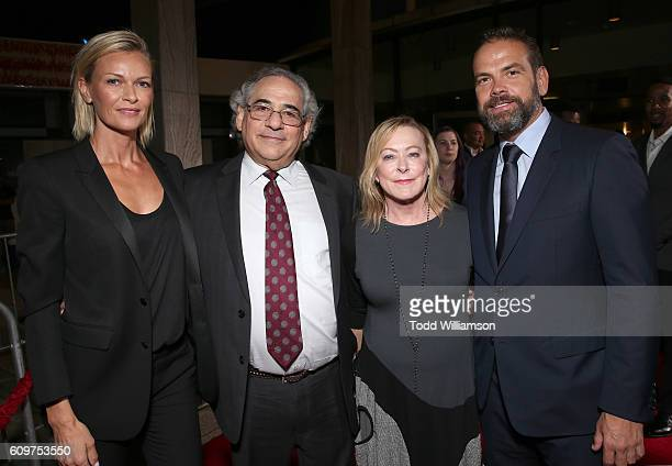 Sarah Murdoch Fox Searchlight President Steve Gilula Fox Searchlight President Nancy Utley and CoChairman of 21st Century Fox Lachlan Murdoch attend...