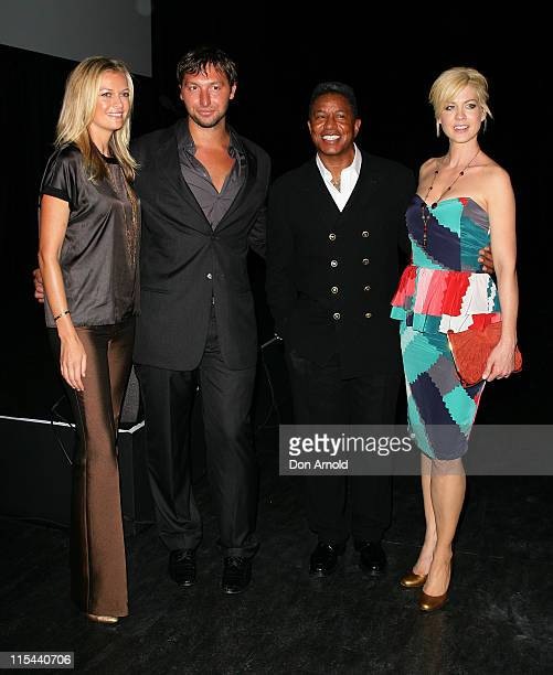 Sarah MurdochIan ThorpeJermaine Jackson and Jenna Elfman attends the 2009 MCN Upfront party celebrating upcoming programming available on FOXTEL via...