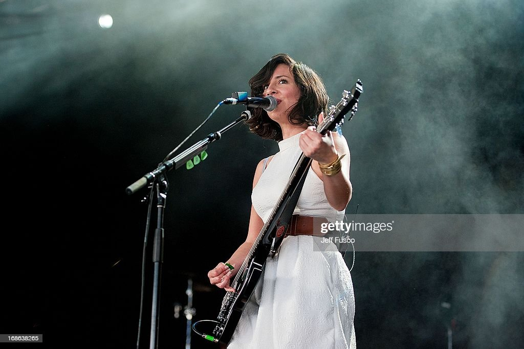 of Silversun Pickups performs at the Radio 104.5 Birthday Show ...