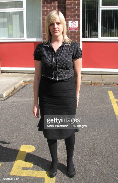 Sarah Nixon outside an employment tribunal in Bury St Edmunds Suffolk