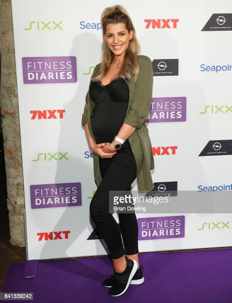 Sarah Nowak attends the launch event for Sophia Thiel's new TV Show 'Fitness Diaries' at Soho House on August 31 2017 in Berlin Germany