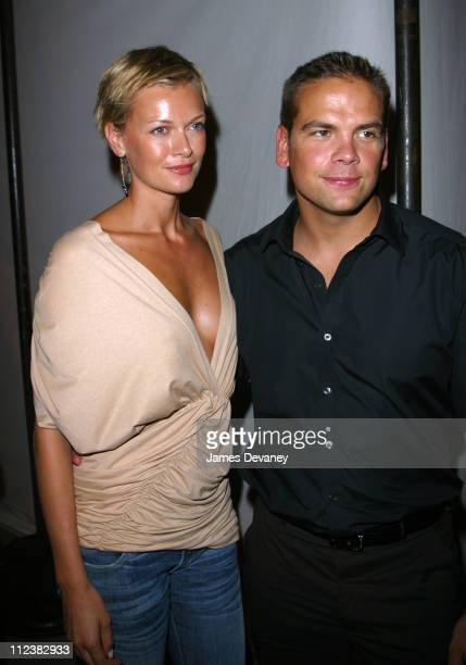Sarah O'Hare and Lachlan Murdoch during MercedesBenz Fashion Week Opening of the first Stella McCartney store worldwide After Party at Gaslight in...